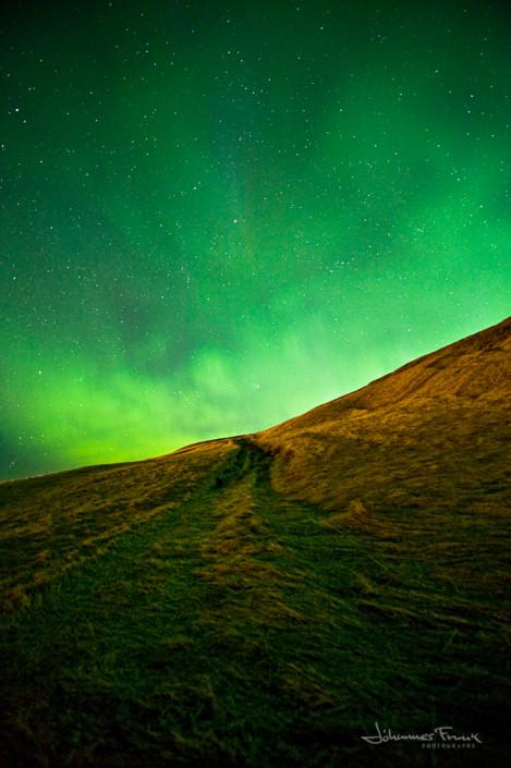 Old Path and Aurora Borelis johannesfrank