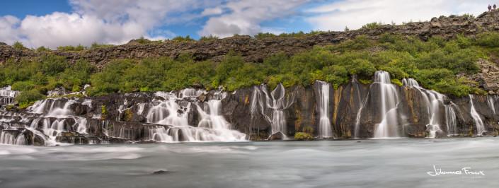 Hraunfossar waterfalls Johannes Frank