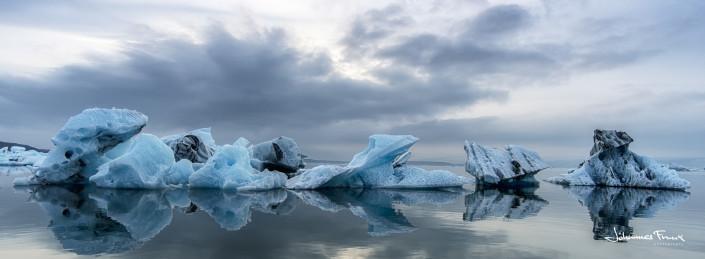 Glacier Lagoon Icebergs Johannes Frank
