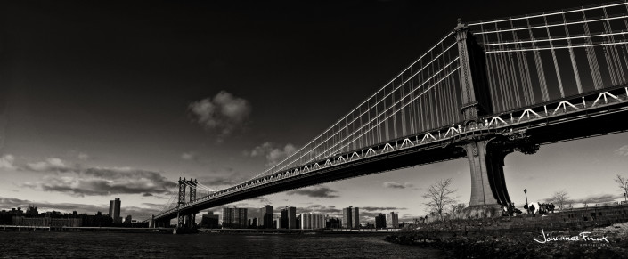 Manhattan Bridge Johannes Frank