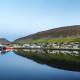 Panorama photographs Thingeyri Dyrafirdi West Fjords Johannes Frank