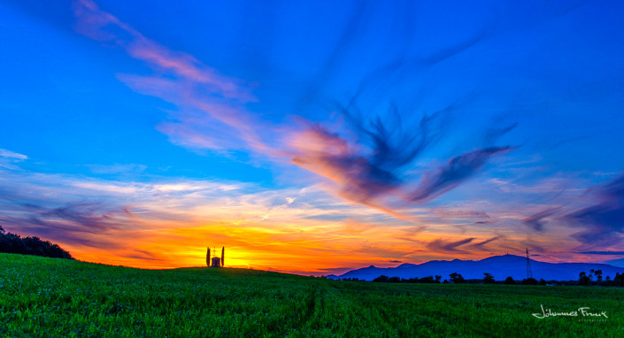 Italy Sunset Johannes Frank
