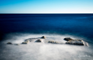 blue sea long exposure Johannes Frank