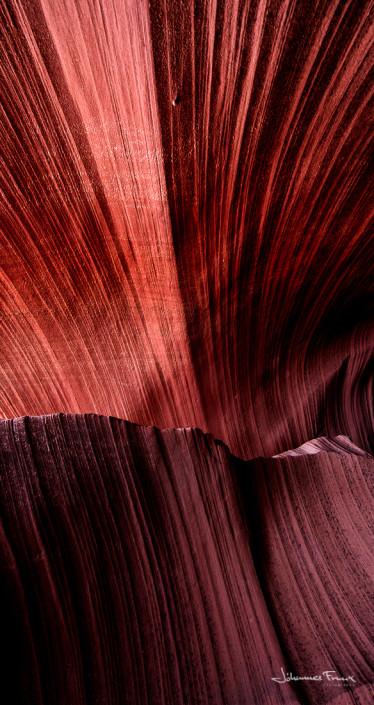 Travel Images Broken Lines Antilope Canyon sandstone johannes frank