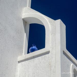 Santorini blue Wase Johannes Frank