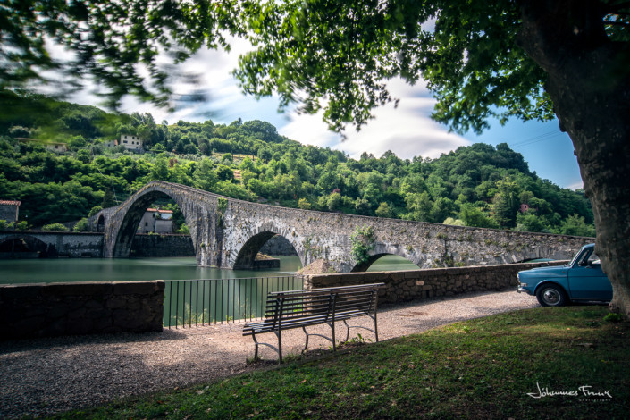 Travel Images Ponte Maddelena Devil's Bridge Johannes Frank