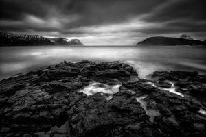 Black and White Photography Dyrafjordur
