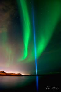 Peace Tower Northern Lights Johannes Frank