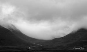 Black and White Photography Gemlufalllsheiði johannesfrank