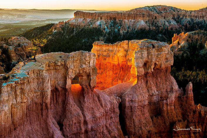 Gloving Bowl Sunrice Bryce Canyon Johannes Frank