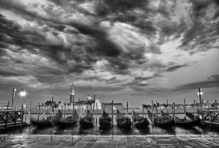 Gondola in Venice Johannes Frank