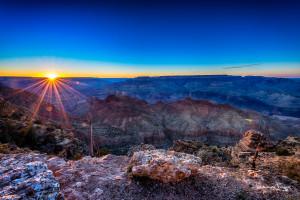 Travel Images Grand Canyon sunset Johannes Frank