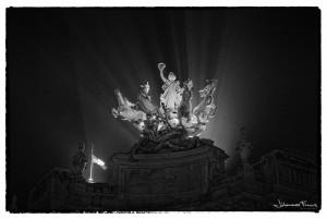 Quadriga statue paris Johannes Frank