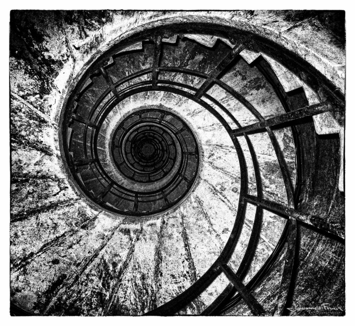 Stairs in Arc de Triomphe Johannes Frank