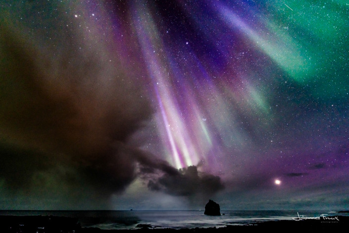 Northern Lights at Reykjanes Johannes Frank