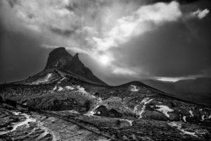 Einhyrningur mountain Johannes Frank