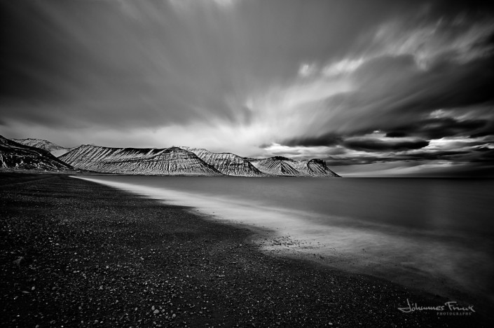 Empty beach Johannes Frank