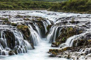 Icelandic landscape Bruarfoss