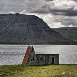 Summer house in Arnarfjordur johannes frank