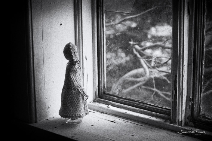 A Doll in a windowsill johannes frank
