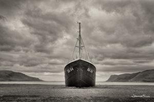 Abandoned Places Gardar old boat in Patreksfjordur Iceland Johannes Frank