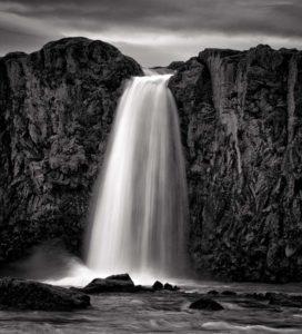 Icelandic landscape Goðafoss