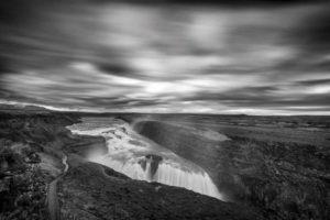 Icelandic landscape Gullfoss