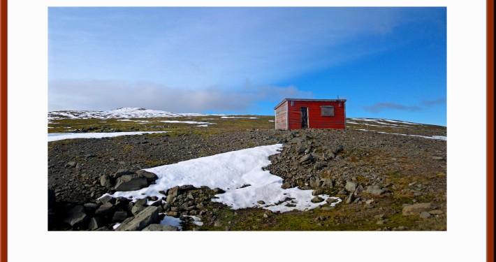 Mountain Shelter on Hrafnseyrarheidi Iceland
