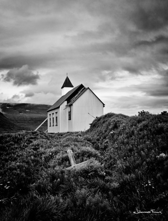 Church at Hornstrandir Iceland Johannes Frank