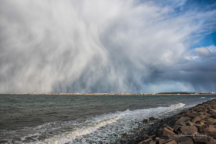 Reykjavik storm Cloud Johannes Frank
