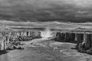 Icelandic landscape Selfoss