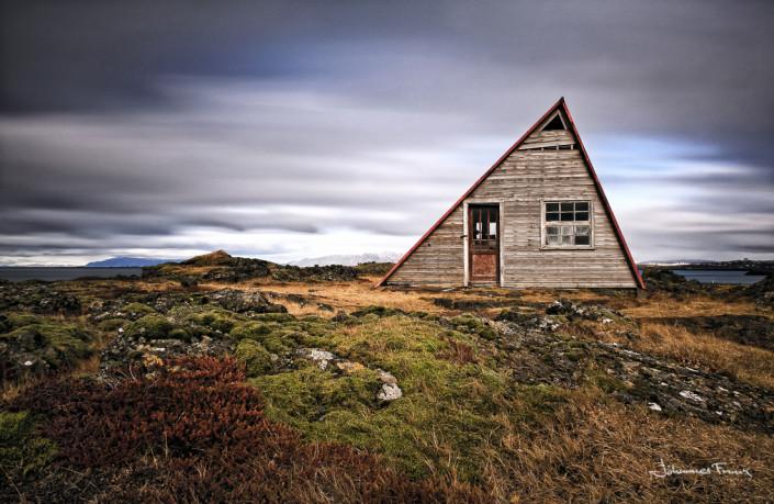 Summerhouse at Straumur Iceland