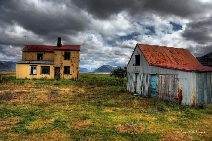 Sveinseyri Dyrafirdi Iceland Johannes Frank