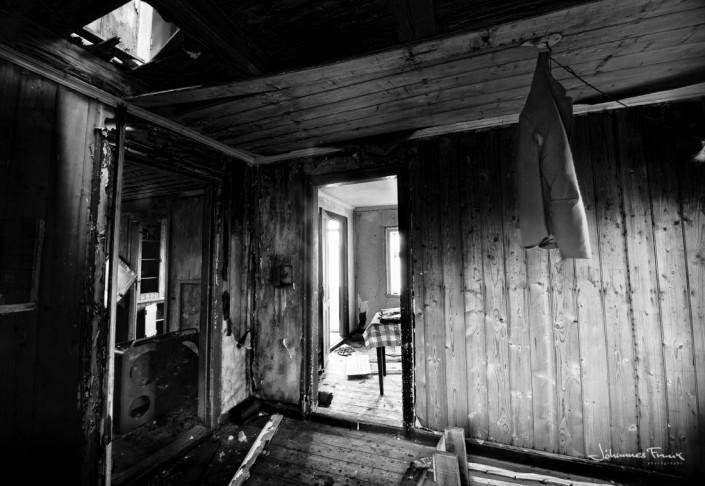 Old Jacked in abandoned house in Arnarfjordur johannes frank
