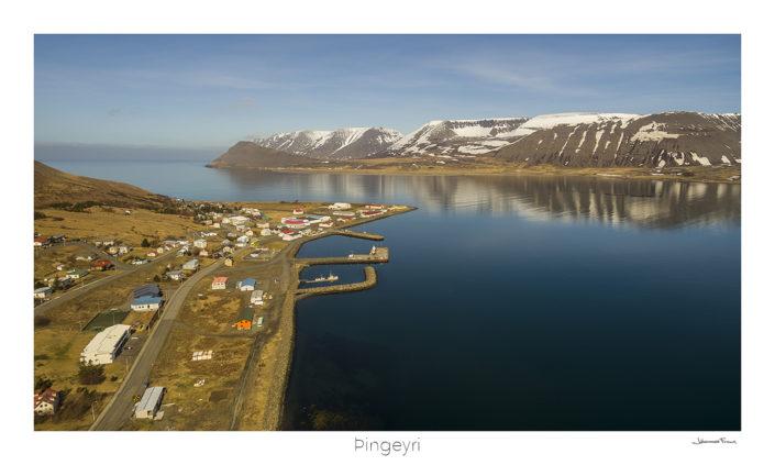 þingeyri village west fjords Iceland Johannes Frank