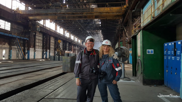 At Ilyich Steel and Iron Work johannes frank