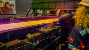 Hot steel in Ilyich Steel Mariupol Johannes Frank