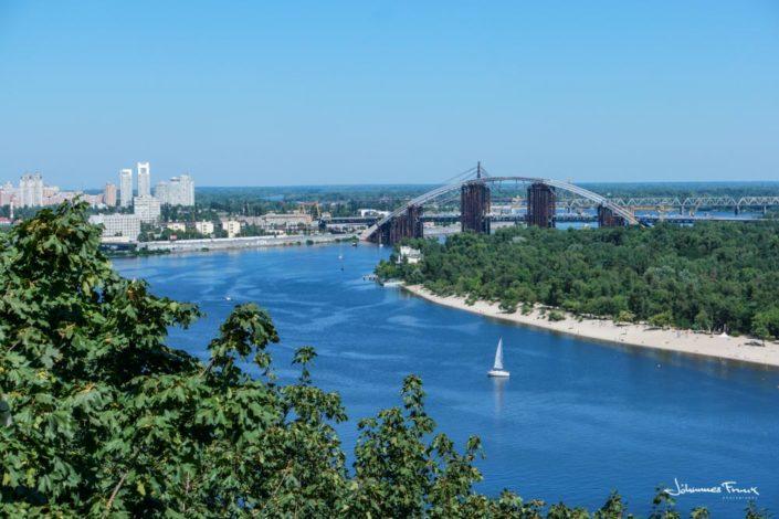 Dnieper river Kiev johannesfrank