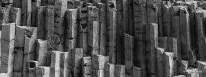 Columnar rocks Reynisfjara Johannes Frank