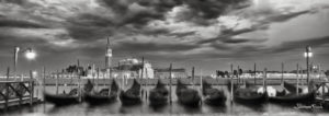 Gondolas Venice Johannes Frank