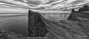 Cliff Horn West Fjords Iceland